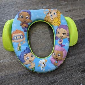 Bubble Guppies potty seat
